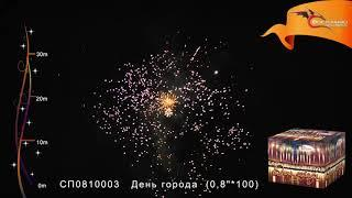СП0810003 День города  салют Восточный экспресс