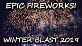 Winter Blast 2019 FIREWORKS PYROTECHNICS Show In Lake Havasu!