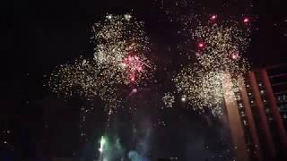 UST Baccalaureate Mass 2019 Fireworks Display