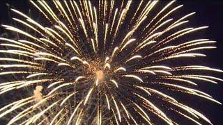 Canada Day fireworks at Ashbridge's bay