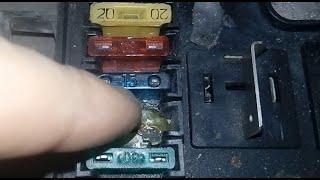 ВАЗ 2114 после КЗ не заводится / Поверхностный ремонт
