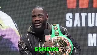 Deontay Wilder vs Tyson Fury Fireworks What Rd Will The KO Come EsNews Boxing