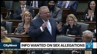 Fireworks at Queen's Park as Ford defends his cabinet