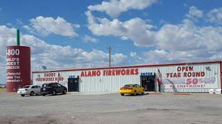 2019 Alamo Fireworks Store walkthrough with prices*