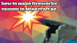 How To Make Fireworks Cannon, Arrow trap and more in Minecraft