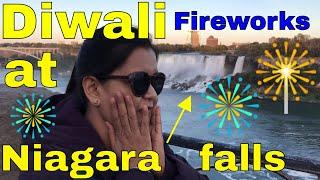 Diwali Fireworks at Niagara Falls | Canada Couple Vlogs | NewAir AF-520B