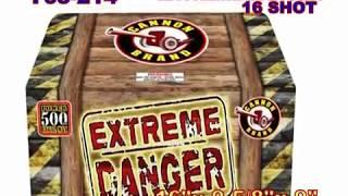 Extreme Danger Cannon Fireworks (Coming in 2019) | Red Apple Fireworks