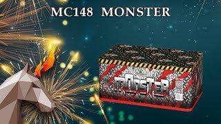 "MC148 Монстр / Monster (0,8"" x 200) пиротехника оптом ""ОГОНЕК"""