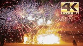 ⁽⁴ᴷ⁾ Burning Airfield 2019: Explosive Arts - Closing Fireworks - schluss feuerwerk - Vuurwerk