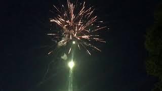 Запуск салюта на день рождения Светланы