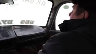 Российский беспилотный автомобиль.
