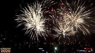 Салют на Новый Год в Краснодаре. 2020