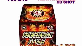 Szechuan Style Cannon Fireworks (Coming in 2019) | Red Apple Fireworks