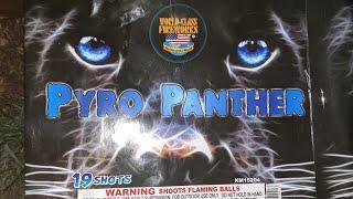 1️⃣9️⃣shot 500gram: PYRO PANTHER (World Class Fireworks)