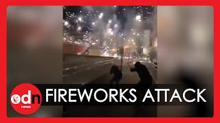 Under Siege: Mob Attacks Paris Police Station With Fireworks