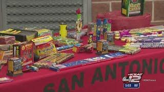 Reminder: Fireworks illegal in SA city limits