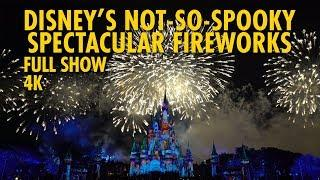 Disney's Not-So-Spooky Spectacular Fireworks | Mickey's Not-So-Scary Halloween Party 2019