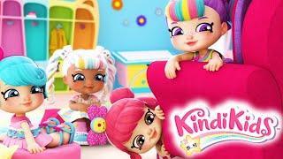 Кинди Кидс - Палатка - 10 серия - Веселый мультфильм для девочек