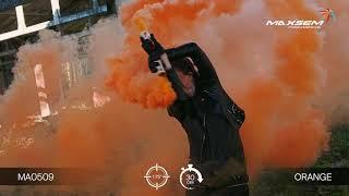 МА0509 Orange Цветной дым густой Оранжевый 30 секунд