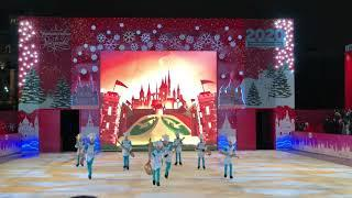 Ледовый театр Снежный Король. Площадь Революции. Путешествие в Рождество-2020