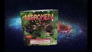 ANDROMEDA 500G FOUNTAIN - PLANET X FIREWORKS