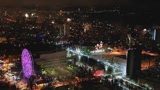 Салюты над Ростовом в новогоднюю ночь