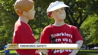 How to enjoy fireworks safely