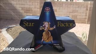 Star Factor Fountain - Sky Bacon Fireworks