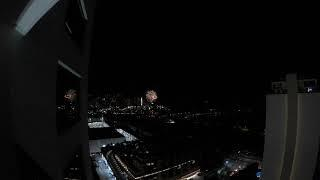 MrG, Britton, Demon Andy See Fireworks from Penthouse in Waikiki!