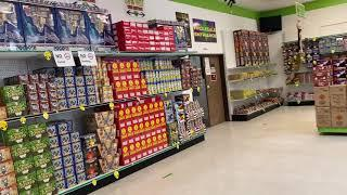 Area 51 Fireworks Store Tour October 4th Part 1