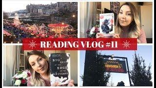 WEEKLY READING VLOG #11 EDINBURGH CHRISTMAS MARKET, FIREWORKS & FANTASY