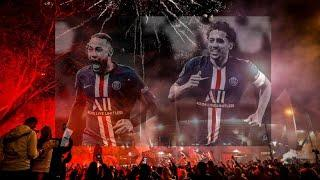 PSG 2-0 Borussia Dortmund | Ultras create Fireworks outside Parc des Princes because Coronavirus