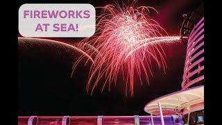 Disney Cruise Line: Fireworks at Sea