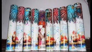 Different Types of Large SKYSHOT SHELLS of Sony Vinayaga Fireworks - Top 10