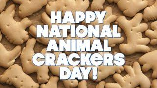 Happy National Animal Crackers Day - April 18, 2021 - Are they vegan?