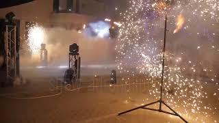 Пиротехнические вертушки Краснодар от Show Adrenaline