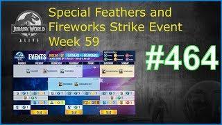 Special Feathers and Fireworks Strike Event Week 59| Jurassic World Alive Deutsch #462 [GER]
