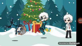 Новогодние игрушки, свечи и хлопушки песня клип анимация клип