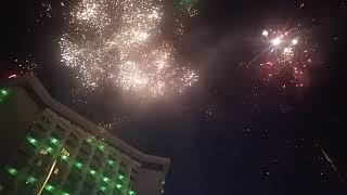 Super live Fireworks here at Century Park Hotel's Chinese New Year of the Earth Pig Celebration 2019