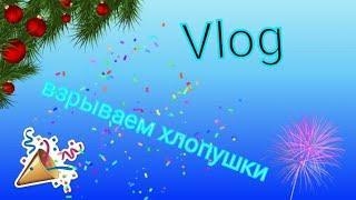 #vlog Vlog/взрываем хлопушки/гуляю с подругой