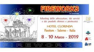 XII edizione International Fireworks Fair  tutte le Foto del giorno 9 Marzo 2019 - by GECIMALI