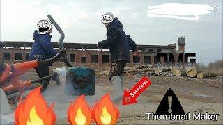 Взрываем петарды /новый герой канала/***