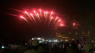 Katara fireworks Celbr ating Eid  2019