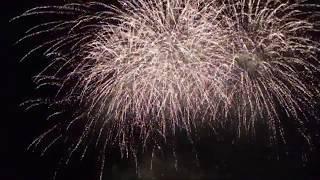 Мегапир - демонстрация заключительного фейерверка, Сочи-2019