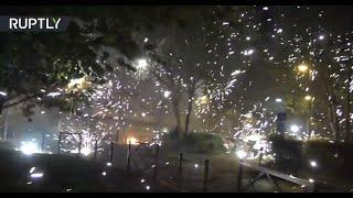 No fun from these fireworks   Paris suburbs left devastated after riots