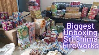 Biggest Unboxing | Sri Chima Fireworks | Night Crackers | Firecrackers  Unboxing |