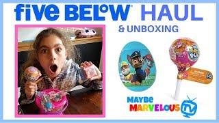 Five Below Haul | Surprise Eggs | Pikmi Pops Unboxing