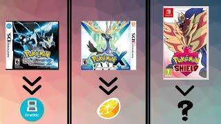 Список всех игр Pokemon! И какие эмуляторы нужны чтобы в них поиграть! (ЧАСТЬ 2)
