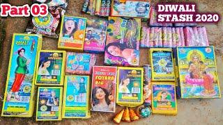 FIREWORKS STASH 2020 || Unboxing Fireworks || Unique Crackers || cheapest crackers|| BooM Experiment