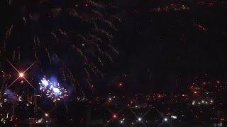WATCH: Fireworks show from Thunder Over Louisville 2019